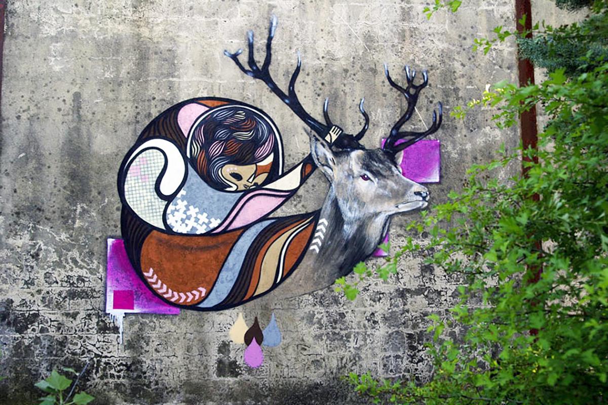 Graffiti GoddoG & Dens - Avignon