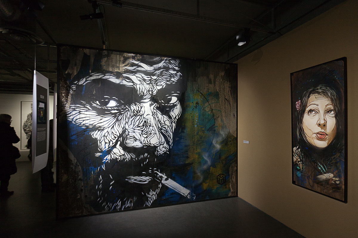 C215 - Above and Beyond Street Art